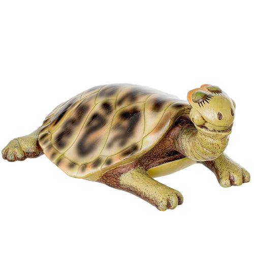 "Turtle Garden Decor Figurine - 7"" Animal Statue Ornament for Outdoor, Pond, Yard, Lawn, Patio, Indoor, Porch, Backyard Decorations"