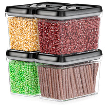 Airtight Food Storage Containers with Lids Sugar & Flour Canister  – 4 Piece Set