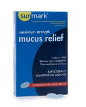 sunmark® mucus E.R.™ Cold and Cough Relief, 14/BT