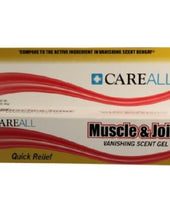 CareAll Muscle and Joint Pain Relief, 1/EA - SoundMedicalSupplies.com