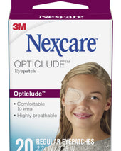 Nexcare™ Opticlude™ Orthoptic Eye Patch, 20/BX