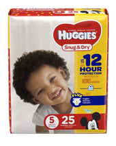 Huggies® Snug & Dry Diaper, 96/CS