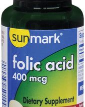 sunmark® Folic Acid Supplement, 250/BT