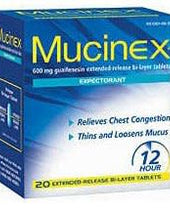 Mucinex® Cough Relief, 1/BX