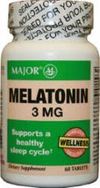 Major® Melatonin Supplement, 1/BT