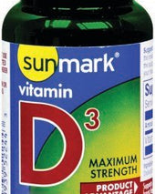 sunmark® Vitamin D3 Supplement, 100/BT