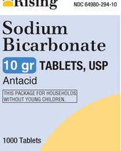 Rising Sodium Antacid, 1000/BT