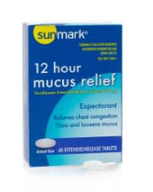 sunmark® mucus E.R.™ Cold and Cough Relief, 40/BT