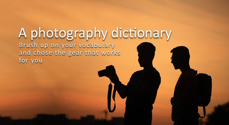 A photography dictionnary