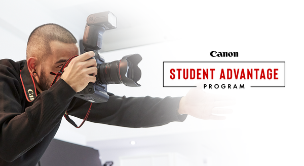 What is Canon's Student Advantage Program?