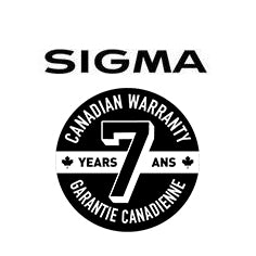 Sigma 7 years warranty logo