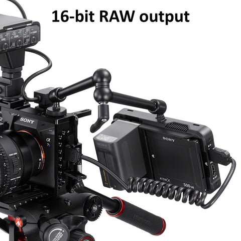 16-bit RAW output for movie