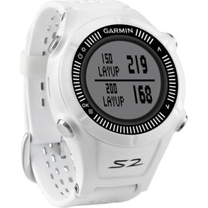 Garmin Approach S2 GPS Golf Watch - White