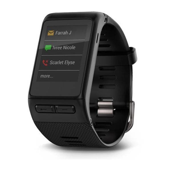Garmin Vivoactive HR GPS Smart Watch, X-Large Fit-Black
