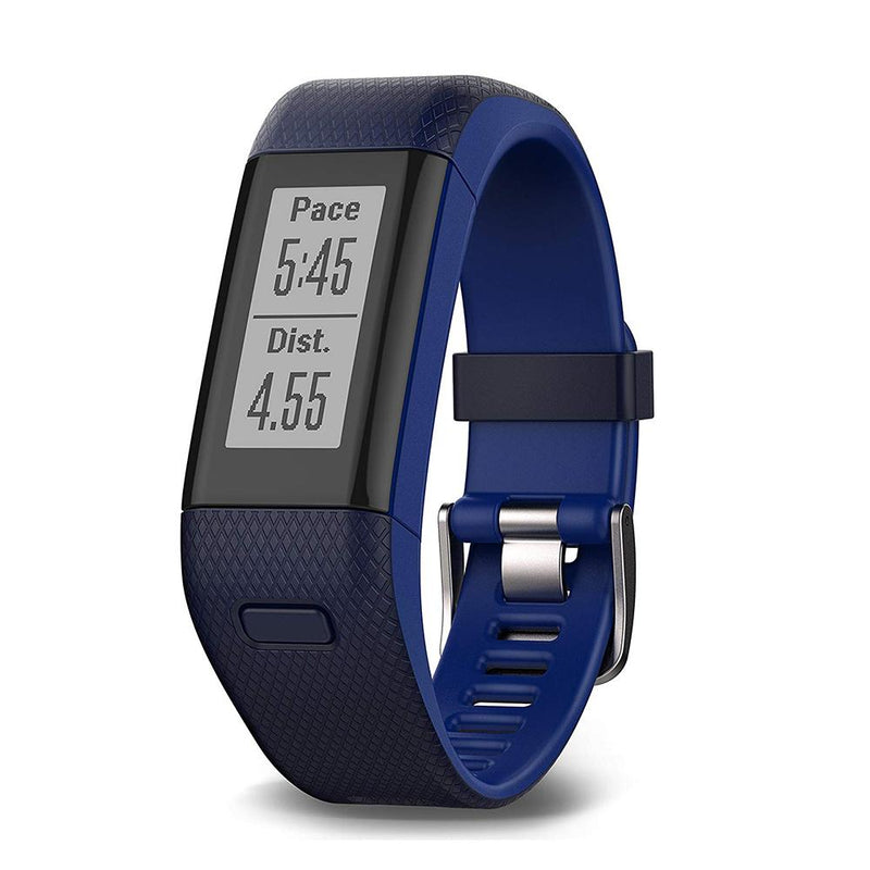 Garmin Vivosmart HR+ GPS Activity Tracker - Blue - Regular