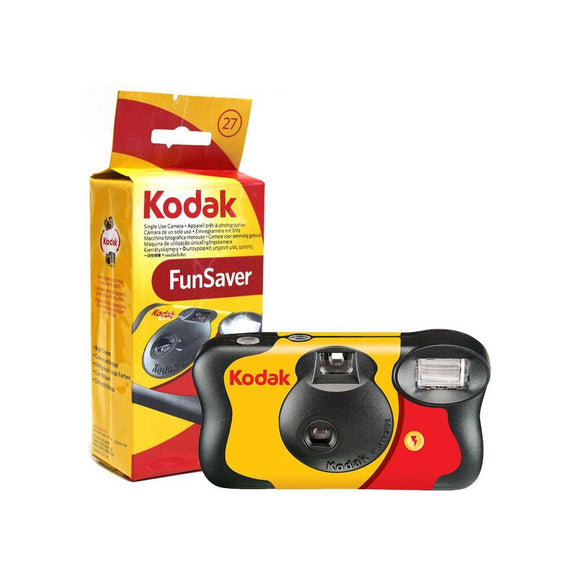 Kodak Funsaver Single use Camera with Flash - 27 exp