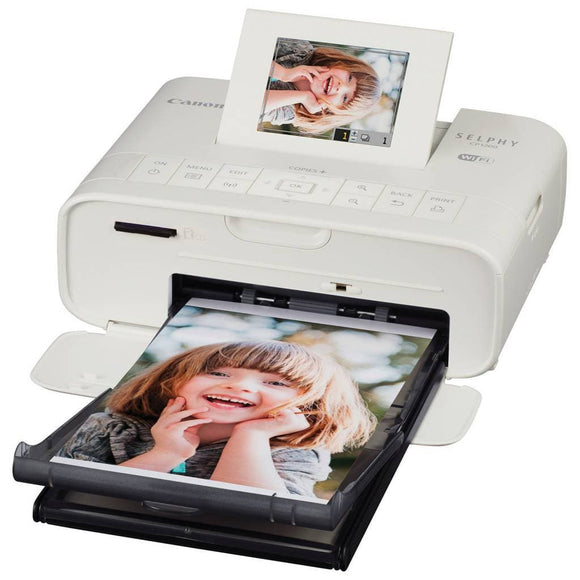 Canon SELPHY CP1200 Wireless Compact Photo Printer White