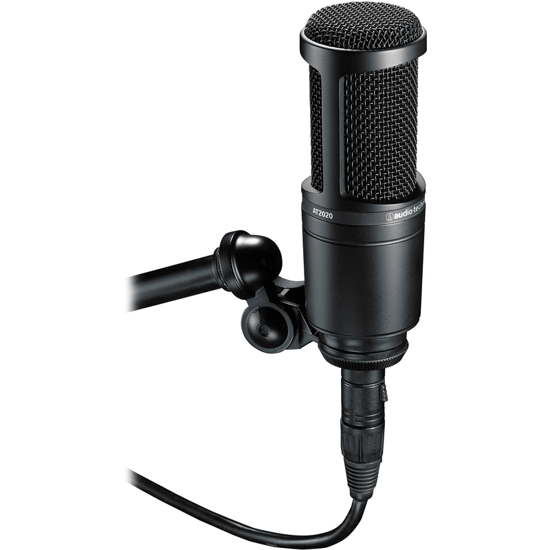 Audio-Technica AT2020 Studio Microphone Pack