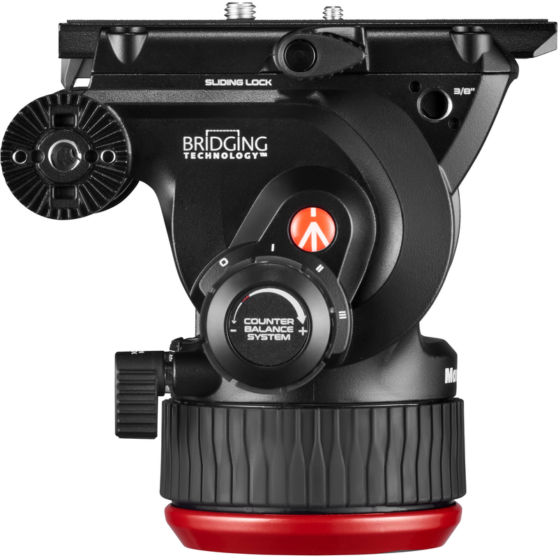 Manfrotto 504X Fluid Video Head with Flat Base
