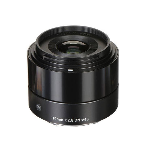 Sigma 19mm F2.8 DN Art Lens Black For Sony E Mount