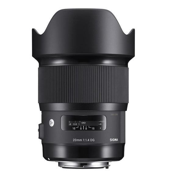 Sigma 20mm F1.4 DG HSM Art Lens For Nikon