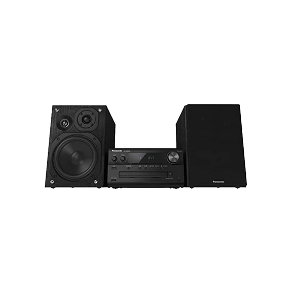 Panasonic SCPMX90 Hi-Res-Audio Compact Stereo Audio System system with LincsD-Amp, 3-way speakers, AUX-IN auto play and optical input