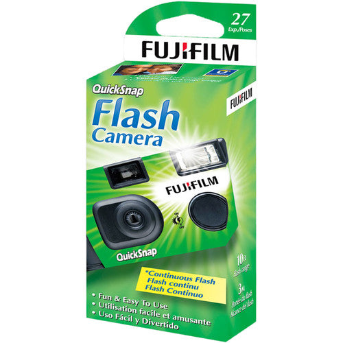 Fujifilm Quicksnap Flash camera - 27 exp