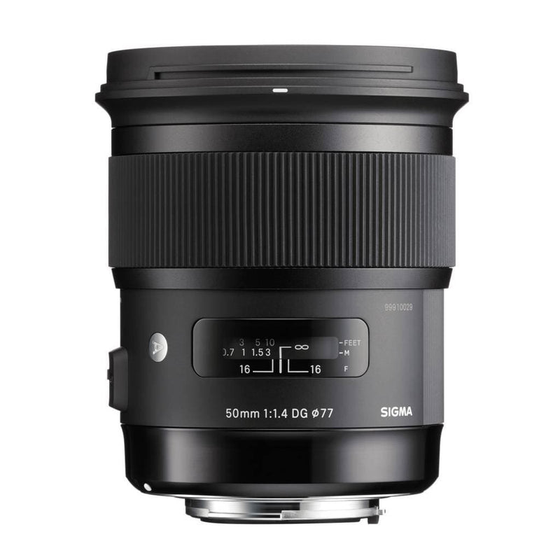 Sigma 50mm F1.4 DG HSM Art Lens for Sony E Mount