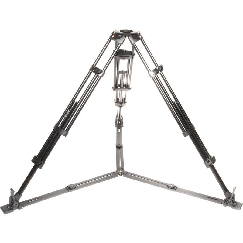 Manfrotto 546GB Alu Twin Leg with ground spreader video tripod