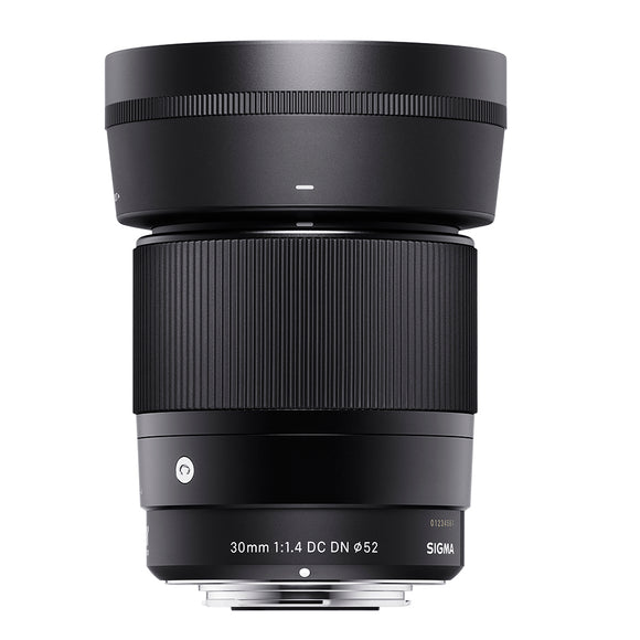Sigma 30mm f1.4 DC DN Contemporary Lens for Canon EF-M Mount