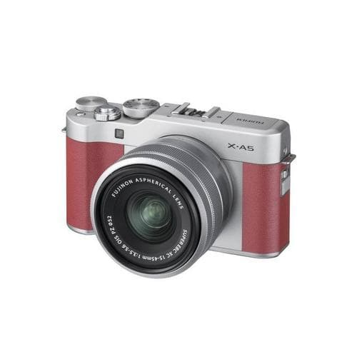 FujiFilm X-A5 Mirrorless Camera Kit  with XC 15-45mm Lens - Pink