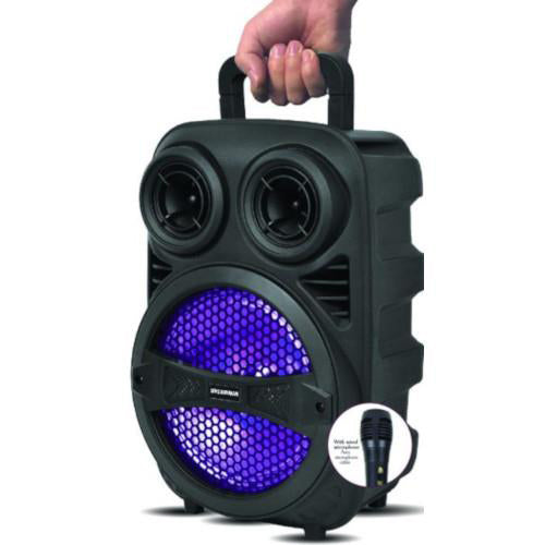 Sylvania Tailgate Portable Bluetooth Speaker with Microphone