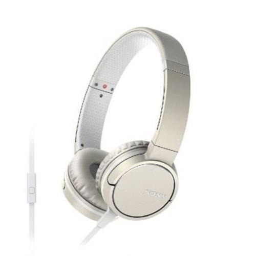 Sony MDRZX660AP Over-Ear Headphones - Silky Ivory