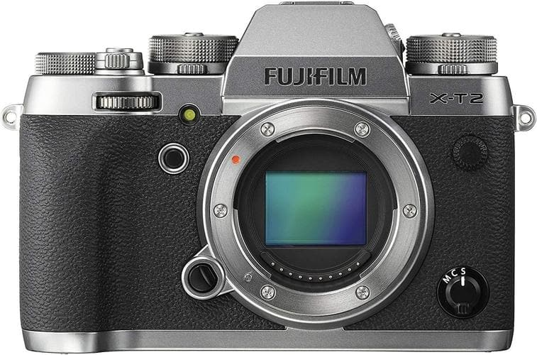 Fujifilm X-T2 Mirrorless Digital Camera, Graphite Silver (Body Only)