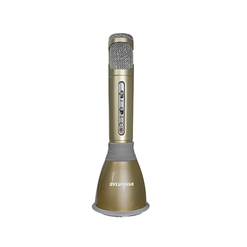Sylvania Portable Bluetooth Karaoke Microphone