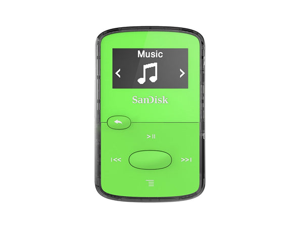 SanDisk MP3 Player Clip Jam 8GB Green