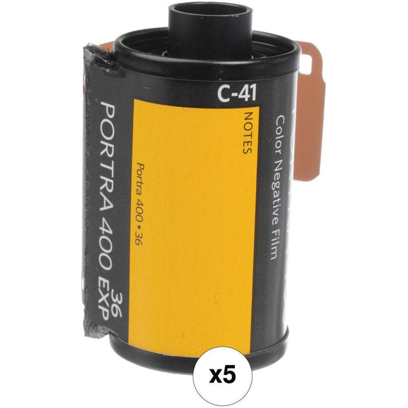 Kodak Professional Portra 400 Color Negative Film - 5pck