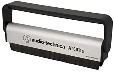 Audio-Technica Consumer AT6011a Anti-Static Record Cleaning Brush