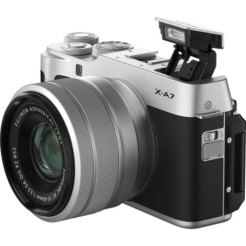 FUJIFILM X-A7 Mirrorless Digital Camera with 15-45mm Lens