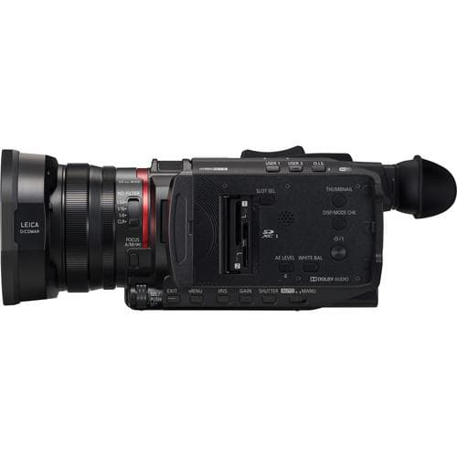 Panasonic HC-X1500 4K Professional Camcorder with 24X Optical Zoom, WiFi HD Live Streaming
