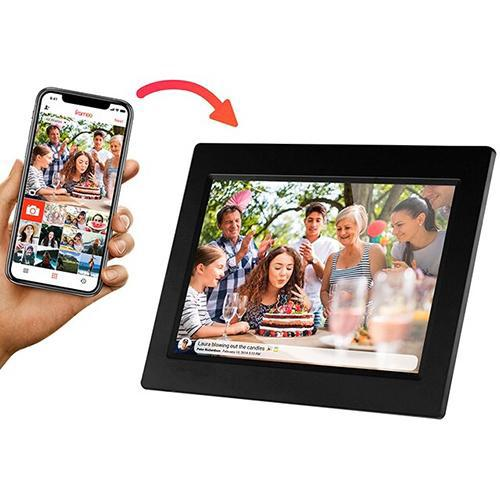 "Sylvania 10"" Smart Digital Picture Frame with wifi"