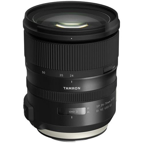 Tamron 24-70mm F/2.8 Di VC USD G2 SP - canon mount