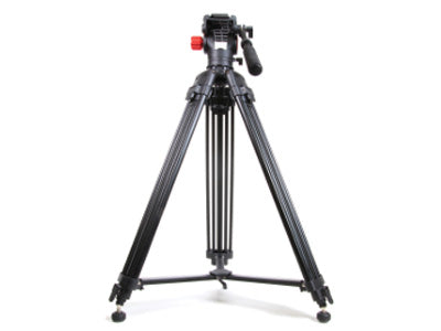 Optex OBVK50 - TwinTube Tripod Pro Video Head & Base -  Black