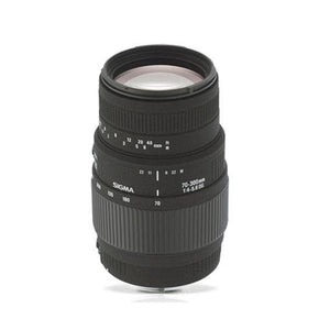 Sigma 70-300mm F4-5.6 DG Macro lens for Nikon