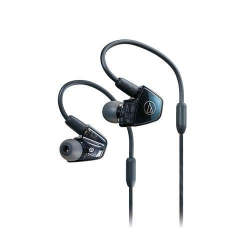 Audio-Technica ATH-LS400iS In-Ear Headphones - Blue/black
