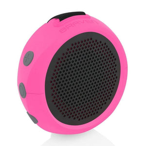 Braven B105RGG 105 Series Portable Waterproof Bluetooth Speaker, Raspberry