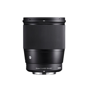 Sigma 16mm F1.4mm DC DN Contemporary Lens for Canon EF-M Mount