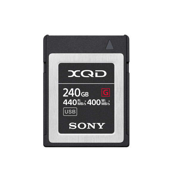 Sony QDG240F/J 240GB G Series XQD Memory Card