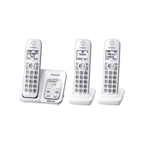 Panasonic KXTGD593W 3 handset cordless phone  - White - Damaged Box