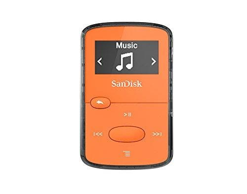 SanDisk MP3 Player Clip Jam 8GB Orange